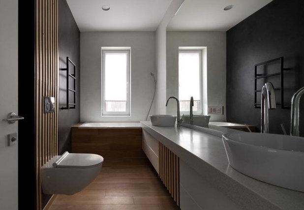 Современный Ванная комната by Yakusha Design