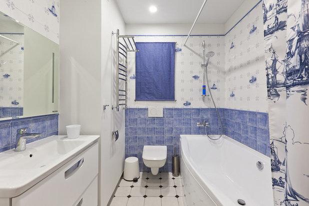 Морской Ванная комната by Lares Design