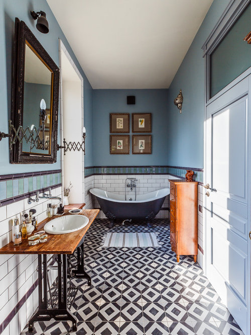 Eclectic Bathroom Design Ideas Renovations Amp Photos With