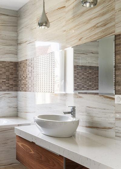 Современный Ванная комната by Balykov Studio
