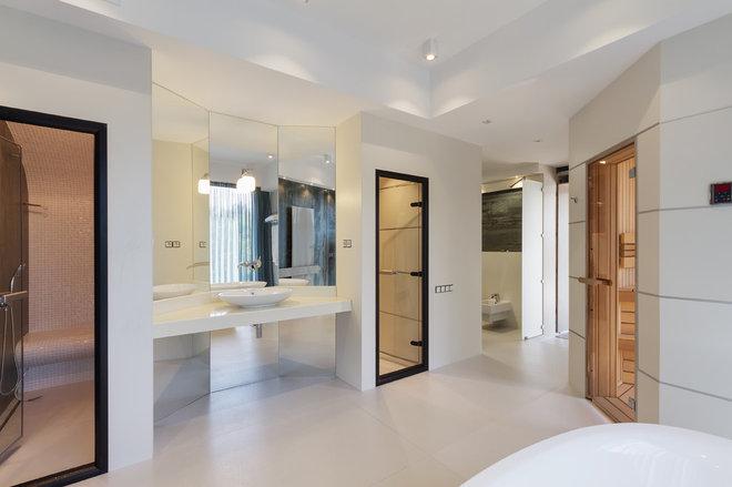 Лофт Ванная комната by FotoRealEstate