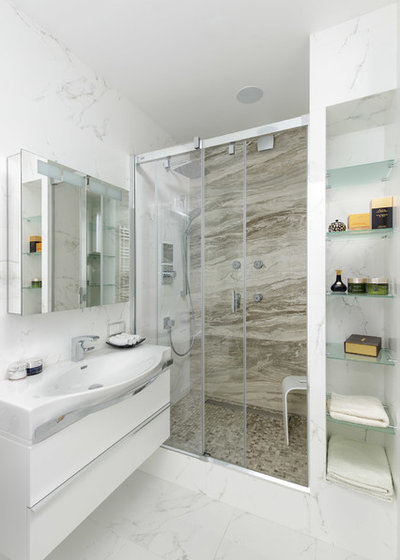Contemporary Bathroom by meschanova