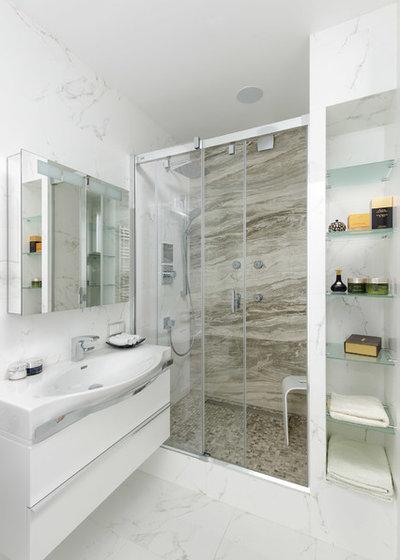Современный Ванная комната by meschanova