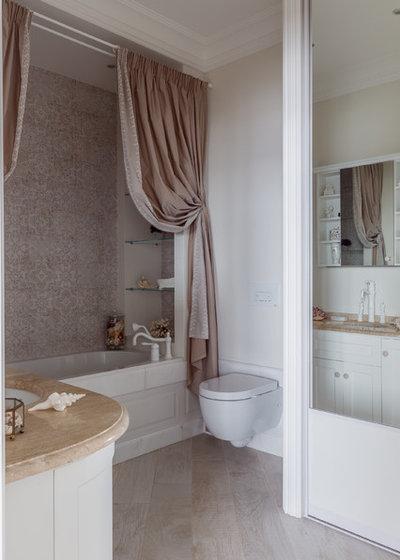 Современная классика Ванная комната by Студия дизайна Светланы Исаевой