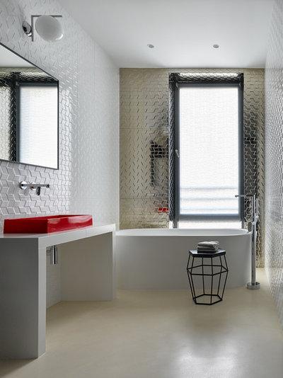 Contemporary Bathroom by Domestic Studio