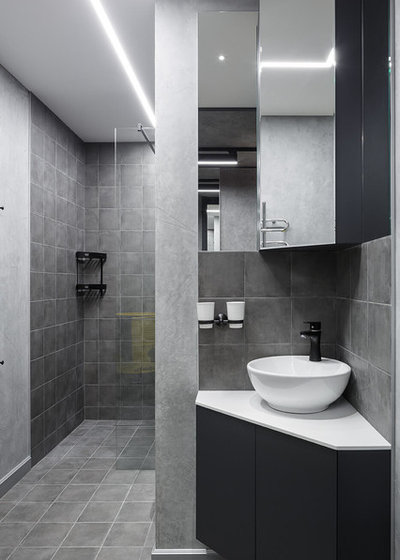 Contemporary Bathroom by Setus Design