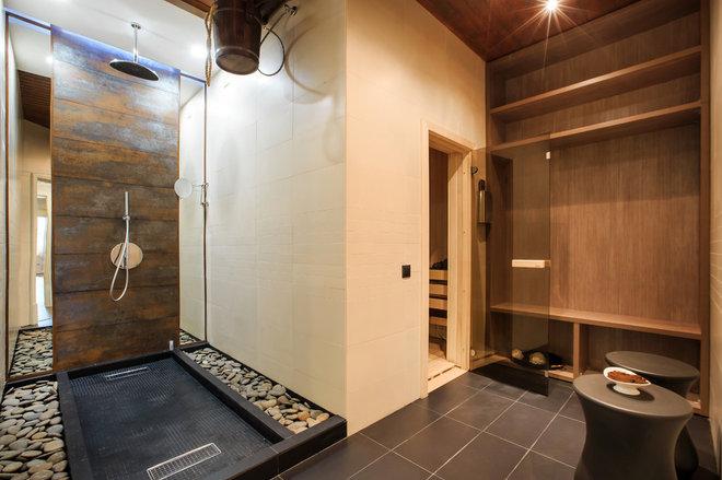 Современный Ванная комната by Дизайнер интерьера №1
