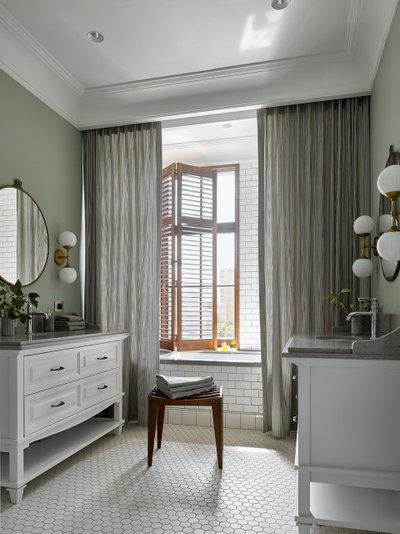 Современный Ванная комната by MARION STUDIO