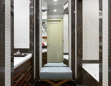 Фотосъемка интерьера квартиры на Фрунзенской набережной для AD