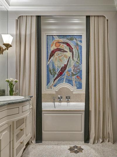 Современная классика Ванная комната by MARION STUDIO