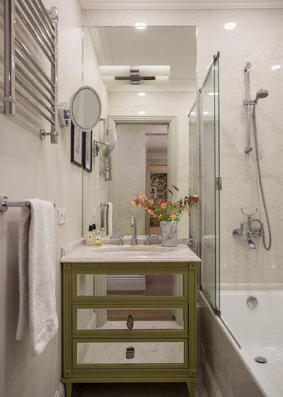 Современная классика Ванная комната by Zaretskikh Olga