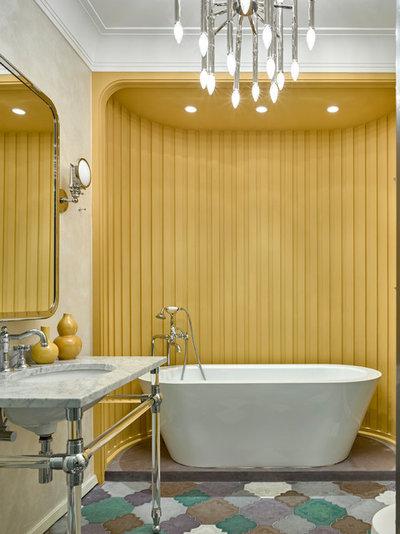 Современная классика Ванная комната by Oleg Klodt Architecture & Design