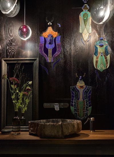 Современный Ванная комната by Дизайн — бюро Екатерины Колеговой Ecole