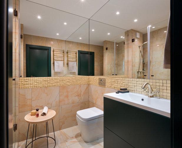 Современный Ванная комната by Творческая мастерская Fateeva Design
