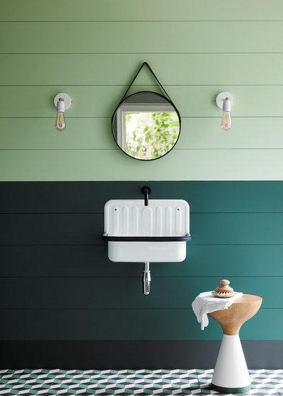 Country Bathroom by Manders