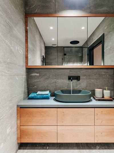Modern Badezimmer by GAFA Architects