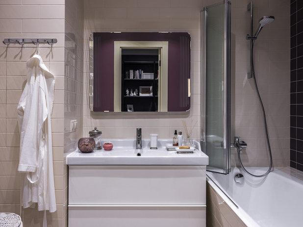 Неоклассика Ванная комната by MO interior design