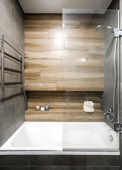 Скандинавский Ванная комната by MAKEdesign