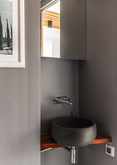 コンテンポラリー 浴室 by Алексей Иванов и Павел Герасимов|Geometrium design