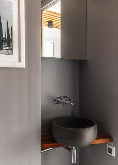 Contemporary Bathroom by Алексей Иванов и Павел Герасимов|Geometrium design
