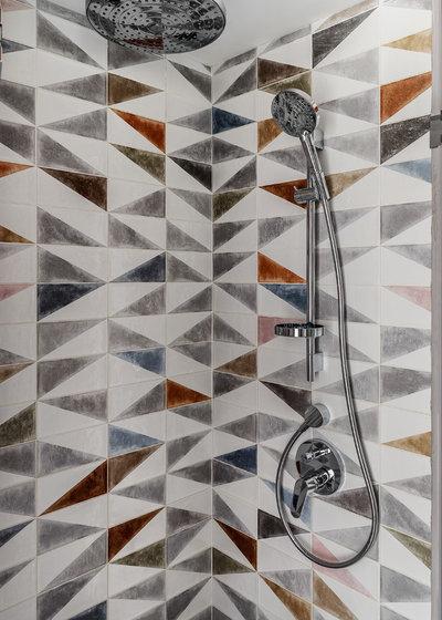Contemporaneo Stanza da Bagno by Алексей Иванов и Павел Герасимов|Geometrium design