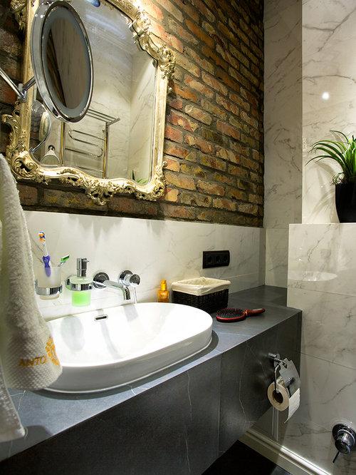 Industrial bathroom design ideas renovations photos for Bath remodel gurnee