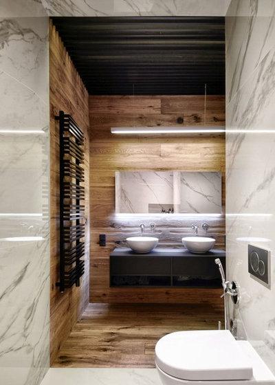 Современный Ванная комната by INT2architecture