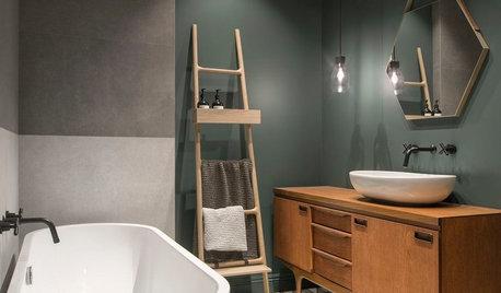 10 idées d'aménagement pour une salle de bains facile d'entretien