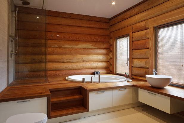 Кантри Ванная комната by Архитектурное бюро LOFTING