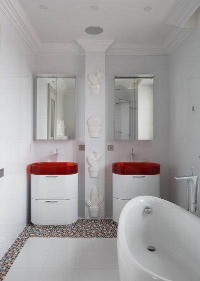 Современный Ванная комната by Denis Vasiliev