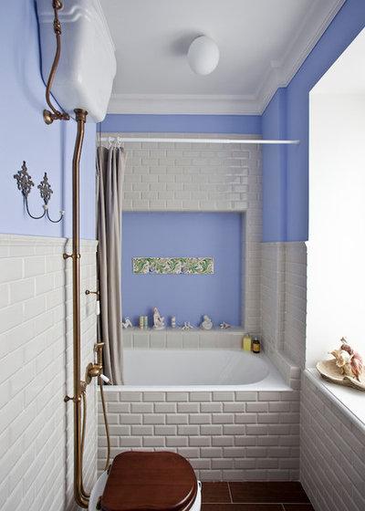 Классический Ванная комната by Однушечка | Odnushechka