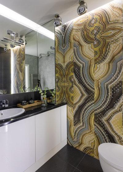 Современный Ванная комната by Елена Безсмолова