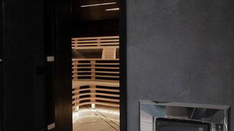 Космическая баня на дровах