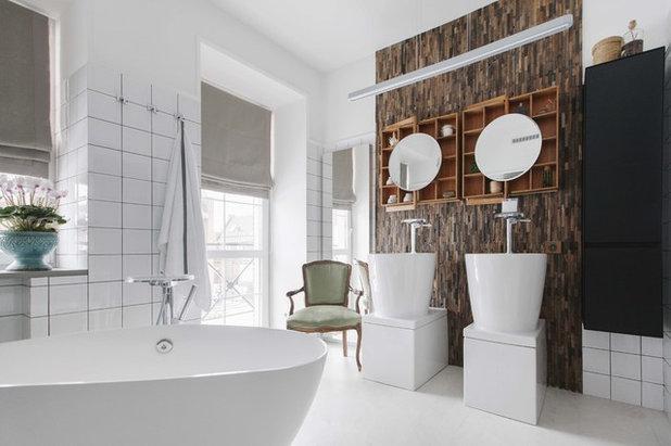 Современный Ванная комната by VerbaHome