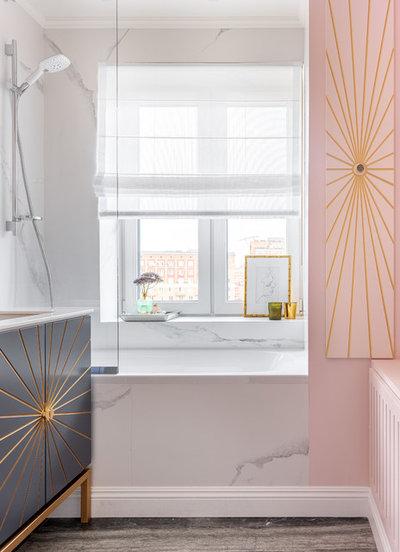 Современный Ванная комната by Mezentseva Interiors