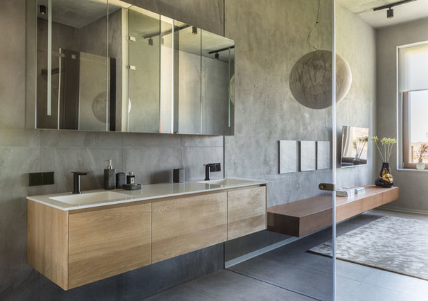 Industrial Bathroom by МК-Интерио