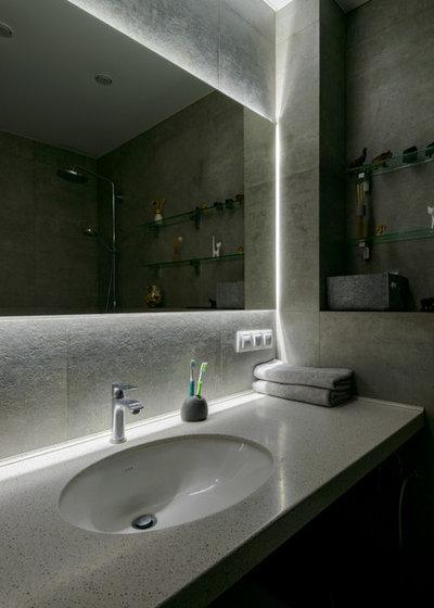 Современный Ванная комната by Alfa-Brand | Симагина Ольга