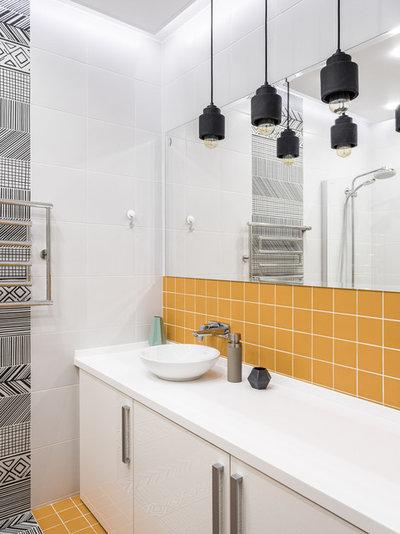 Современный Ванная комната by Уразметов Рустэм