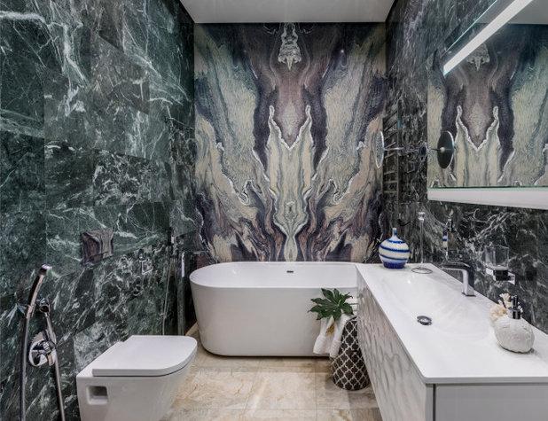 Современный Ванная комната by Елена Демидова