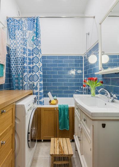 Современный Ванная комната by Свободная мастерская