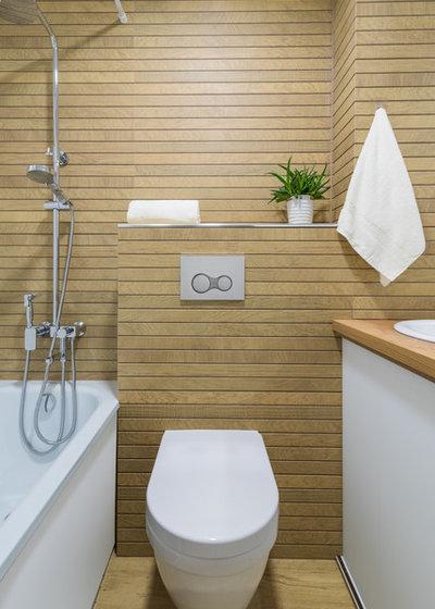 Современный Ванная комната by LANDIK INTERIOR DESIGN