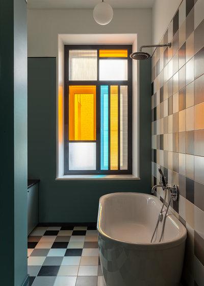 Фьюжн Ванная комната by propertylab+art