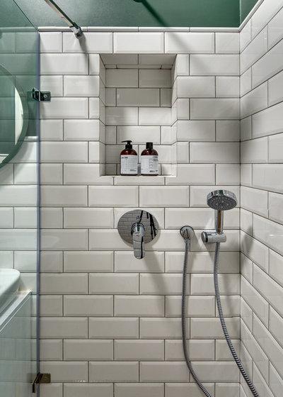 Скандинавский Ванная комната Квартира для сдачи в аренду, Киев