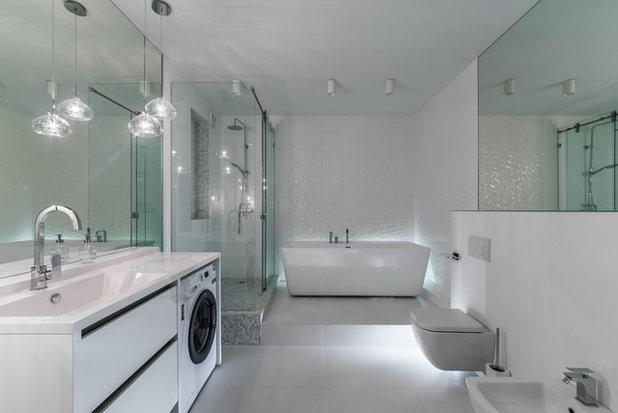 Современный Ванная комната by Арина Волкова