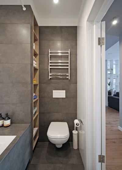 Современный Ванная комната by K BAND