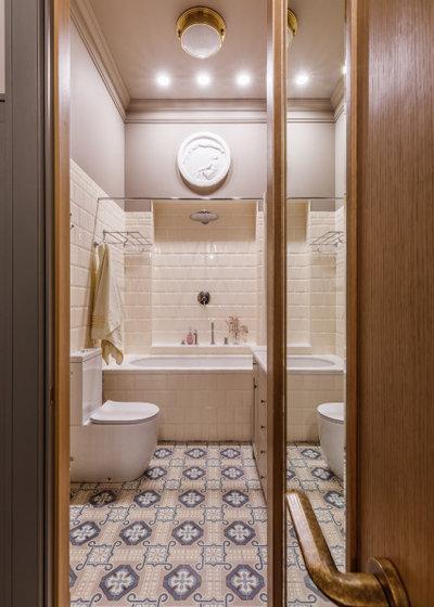 Фьюжн Ванная комната by OLGA IEVLEVA Interior design & decoration