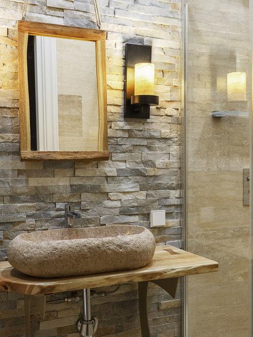 small rustic bathroom design ideas remodels  photos