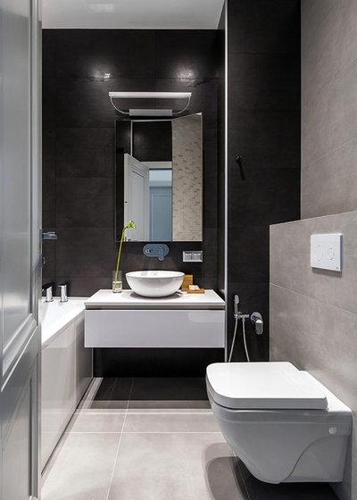 Contemporary Bathroom by Анна Маркова   Lierne Design