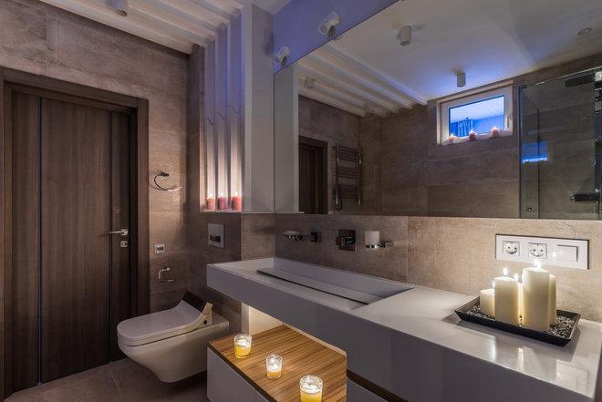 Современный Ванная комната by Andrei Belimov-Gushchin