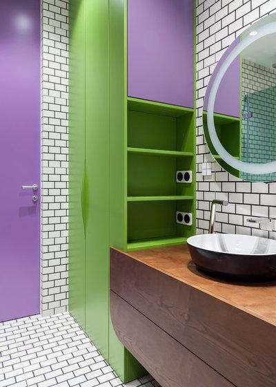 Современный Ванная комната by DVEKATI